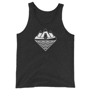 Canoe Bear Tank - Beyond The Treeline Clothing - Hiking, Mountains, Camping, Outdoors, Shirts, Hoodie