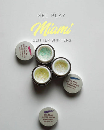 GEL PLAY GLITTER SHIFTER MIAMI MINI KIT
