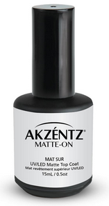 AKZENTZ TOP COAT MATTE-ON