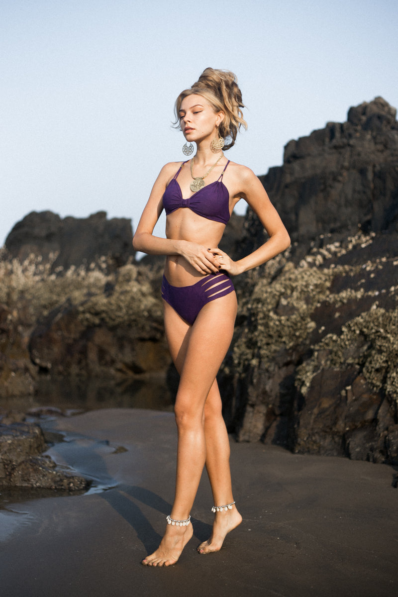 Purple Bikini Set For Women - goa-magic-fashion