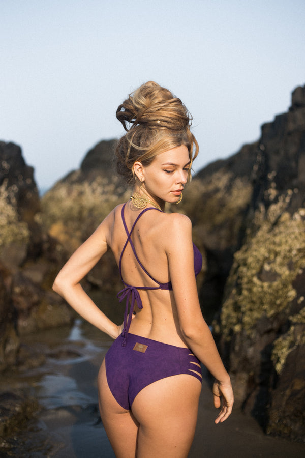 Purple Bikini Set For Women