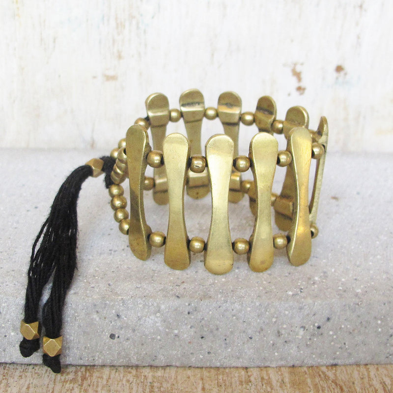 Gypsy Cuff Bracelet, Body Jewelry BY Artjuna Jewelry - goa-magic-fashion