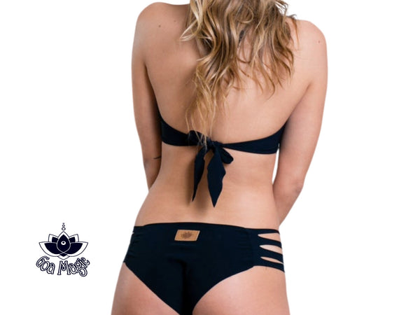 Black Bikini Set For Women - Bikini - [By Goa Magic Fashion]