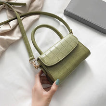 Lime Green Alligator Handbag