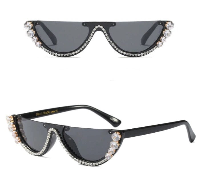 Bling Cat Eye Glasses