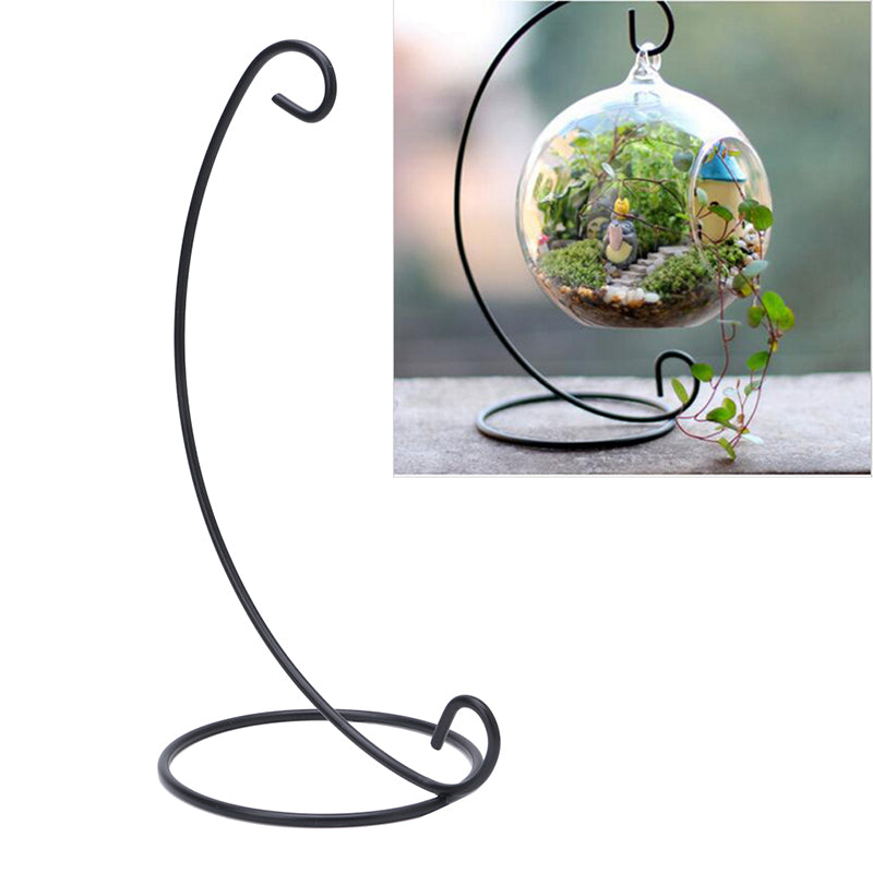 Hanging Vase Stand - Black - The MOJO