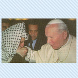 Pope John Paul II and Arafat