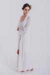 Gracie Dressing Gown - Ivory