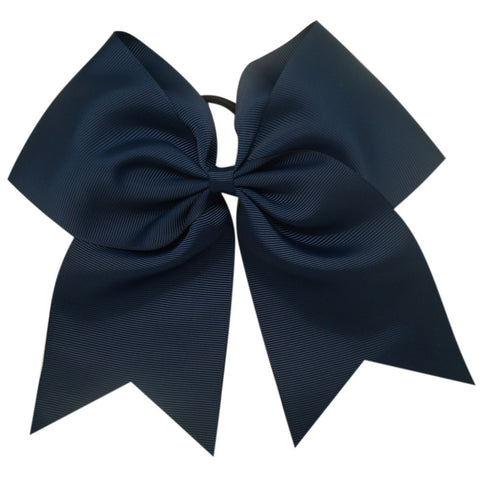 Cheer Bow on Hair Tie