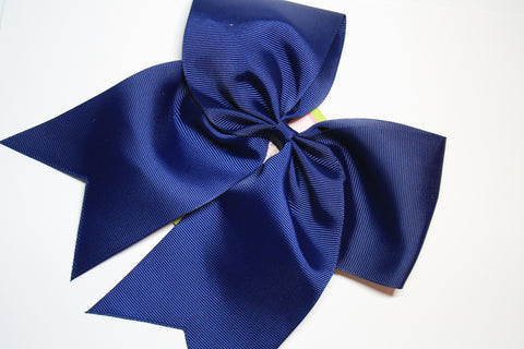 Cheer Bow on Clip