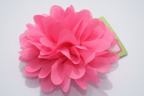 Big, Fluffy Flower Clip.