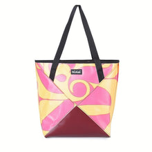Tote bag Pink Yellow-Recyclt.com