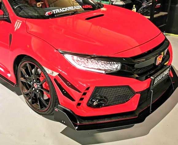 FK8 Civic Type R street series front aero package
