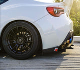 Toyota 86 GTS light track rear diffuser