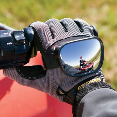 Safety First Hand Mirror - A Must Have Item for ALL Bikers