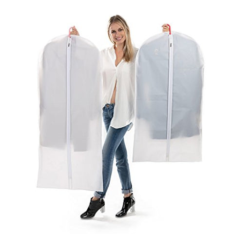 "Hanging Garment Bag for Storage (Message us ""Garment Bag"" to get your 80% OFF code)"
