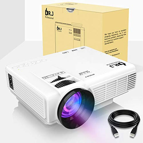 "(2018 Upgraded) Mini Projector with 170"" Display (Message us ""Mini projector"" to get your 73% OFF code)"