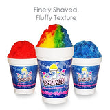 Premium Shaved Ice Machine with Syrup Samples
