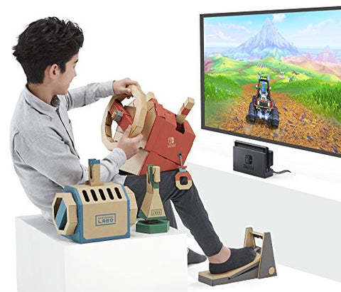 Make your own game room- Nintendo Labo Toy