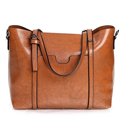 "Women's Leather Work Tote Bag (Message us ""Work tote bag"" to get your 80% OFF code)"