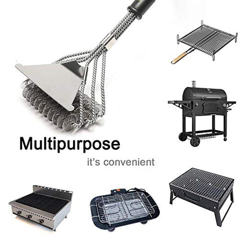 "BBQ Grill Brush (Message us ""BBQ grill brush"" to get your 50% OFF code)"