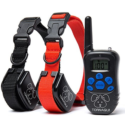 "Anti-Bark Collar With Remote Controller (Message us ""Antibark collar"" to get your 55% OFF code)"
