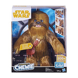 Be Han Solo with The Ultimate Co-Pilot Chewie Interactive 16-inch Tall Plush