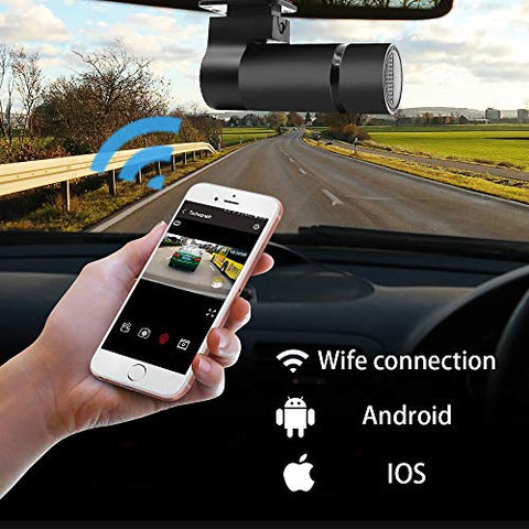 "HD 1080P Car 270°Camera Dual Mount Dash Cam (Message us ""Dash cam"" to get your 50% OFF code)"