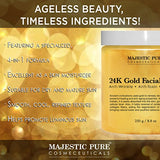Give some gold to your skin: Pure Gold Facial Mask - 8.8 Oz