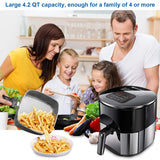 "Air Fryer 6-in-1 Oilless Air Fryer Touch Screen (Message us ""Air fryer"" to get your 35% OFF code)"