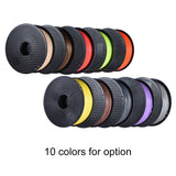 10 Colors 3D Pen (or Printer) 'Ink' PLA Environment Friendly Filament 1kg/Roll