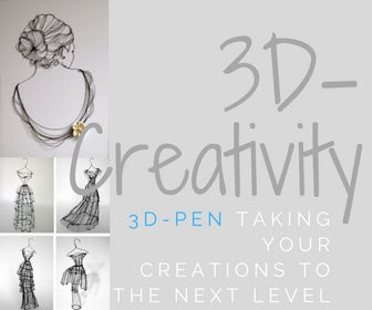 3D Drawing Pen, take your drawings to the next dimension
