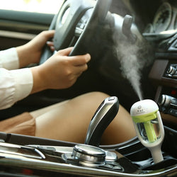 Ultrasonic Air Humidifier, Purifier, Aromatherapy Essential Oil Diffuser for Car