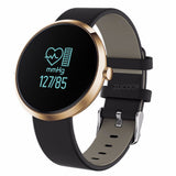 Bluetooth Smart Watch Heart Rate Monitor Blood Pressure Fitness Tracker Wristband for iOS Android