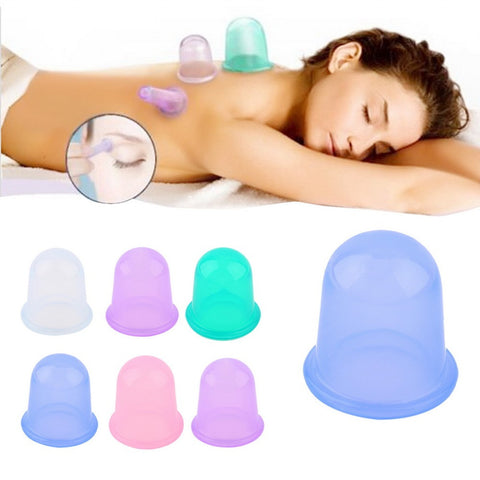Intro offer: Family Body Massage Anti Cellulite Vacuum Silicone Cupping Cups