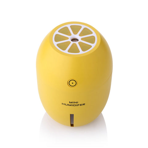 Household Lemon Cup Shape Lightweight USB Cool Mist Air Humidifier Diffuser