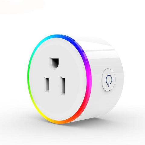 Smart Wifi Home Automation Power Socket for: US, EU, France, AU, UK works with Google Home, Alexa, IFTTT