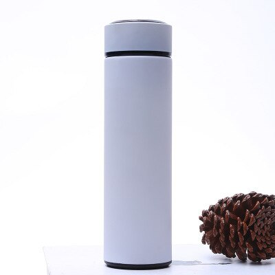 500ML  Thermos Vacuum Flask With Tea Filter Stainless Steel