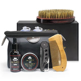 Slick 7pcs Men Beard Styling Care Kit, ideal gift