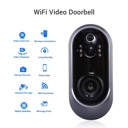 Doorbell With Camera Smart Wifi Video Intercom IR