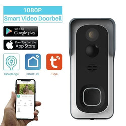 Home Automation Smart WiFi Motion detect Video Doorbell Camera Via iOS Android Phone