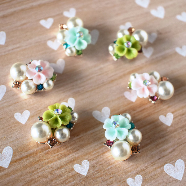 Flower Pearl Magnets