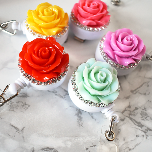 Rose Badge Reel