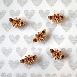 Gold Moth Magnets