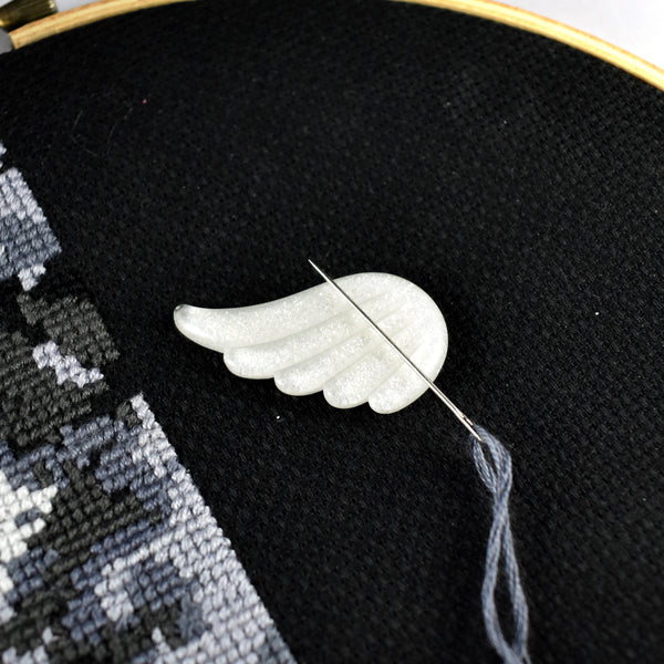 Angel Wing Needle Minder