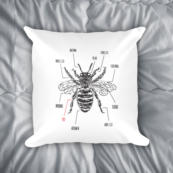 You're The Bee's Knees Throw Pillow