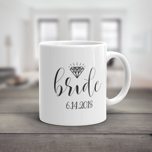 Personalized Bride Mug