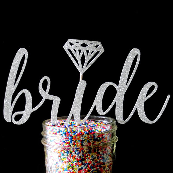 Cake Toppers - Bride Cake Topper