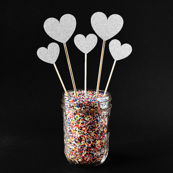 Cake Toppers - Heart Cake Toppers