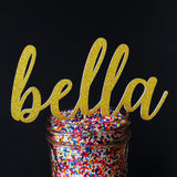 Cake Toppers - Personalized Name Cake Topper